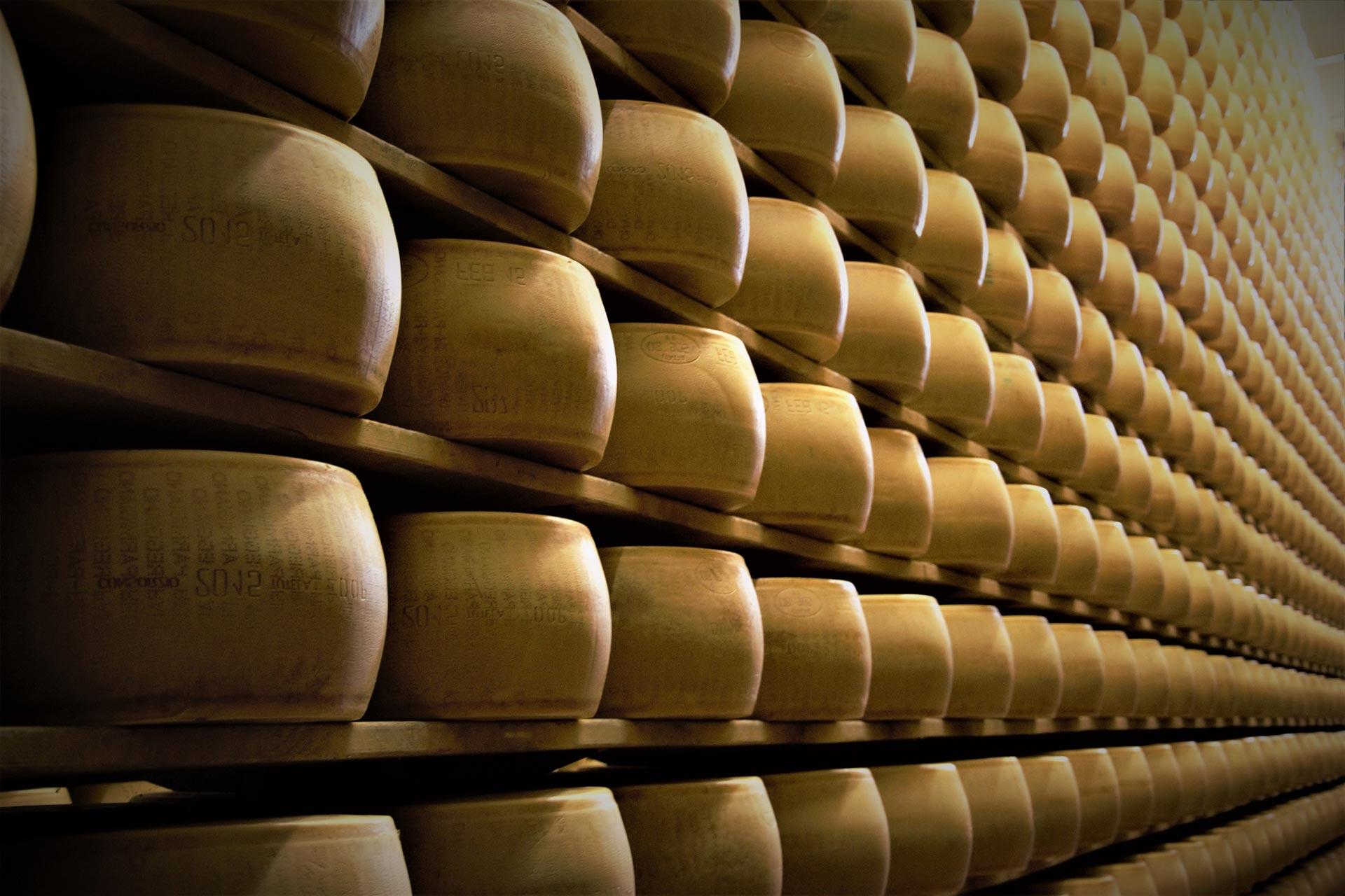 Grana Padano formaggio di qualità